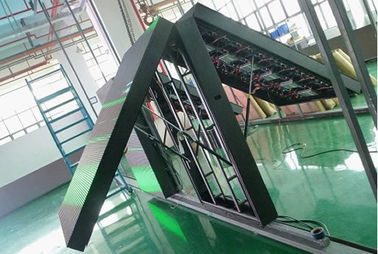 China Outdoor Double Sided Led Display Digital Billboard For Text Advertising display supplier
