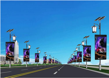 China Outdoor Flexible Advertising Scrolling Light Box 5V 40A Energy Saving Great Refresh Rate supplier