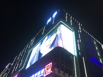 China Programmable Advertising Billboard Display Outdoor Advertising For Roadside supplier