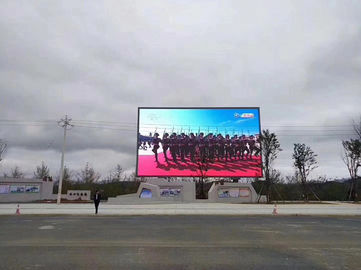 China IP66 6500 Nit Outdoor Led Advertising Screens Wireless Control RGB Full Color supplier