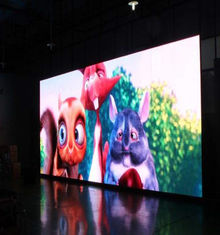 China Full Color Outdoor Led Rental Display Screen SMD2525 500 * 500 MM supplier
