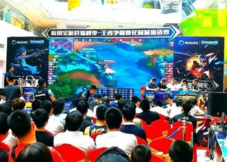 China Outdoor P10 6000 Nits Rental LED Video Wall Screen For Stage Background supplier