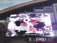 Led Transparent DIP Led Display Mesh , Advertising Background Billboard