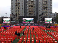 SMD1921 Black Face Outdoor Led Screen Hire , High Contrast Led Rental Display