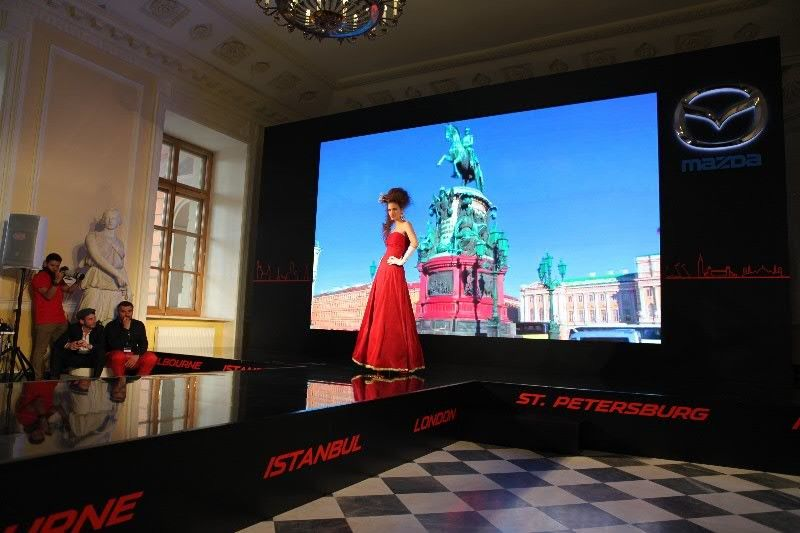 Nationstar P4 81 Stage LED Display Video Wall Rental SMD2020