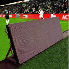 China 6500Nits Pixel Stadium Perimeter Led Display 1R1G1B 10 MM Front Access distributor