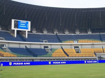 China Die - Casting Stadium Perimeter Led Display , 5V 40 A Football Advertising Boards distributor