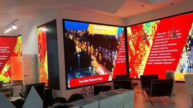 China 16 Bits High Resolution Large Scale Indoor Led Display Screen Screen Hire CE Rosh distributor