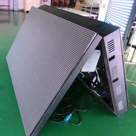 China Front Open Outdoor Double Sided Led Display , High Resolution 6500 Nits Video Wall distributor