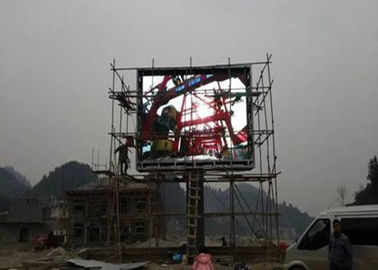 China OEM Large Scale Double Sided Led Display Video Wall SMD3535 3 - 5 Years Warranty distributor